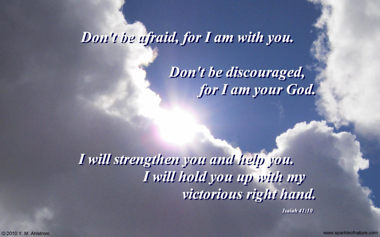 Attrayant Free Desktop Wallpapers   Religious U0026 Inspirational   6978 Fear Not 1280x800